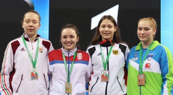 Dina Durmiš osvojila zlato