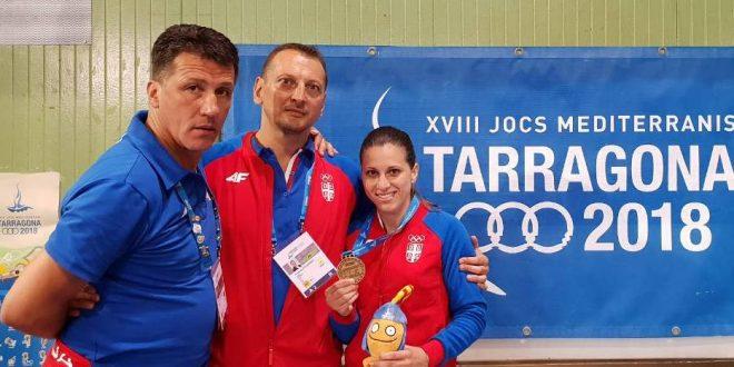 Jelena Milivojčević zlatna na Mediteranskim igrama